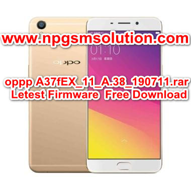 OPPO A37F Latest Official Firmware Stock Rom/Flash File Download