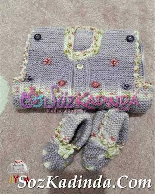 bebek yelek modelleri yapılışı