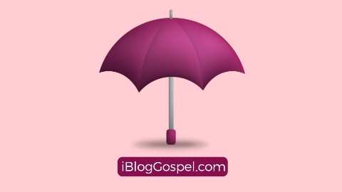 Biblical Meaning Of Umbrella In Dreams