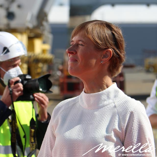Tallink MyStar - Kersti Kaljulaid
