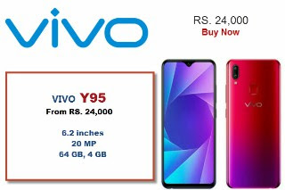 Vivo Y95, Price |Specifications |4,030mAh Battery |Dual Rear Cameras
