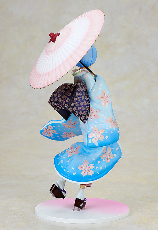 Figuras: Delicada Rem: Ukiyo-e Cherry Blossom Ver. de Re:Zero - Kadokawa