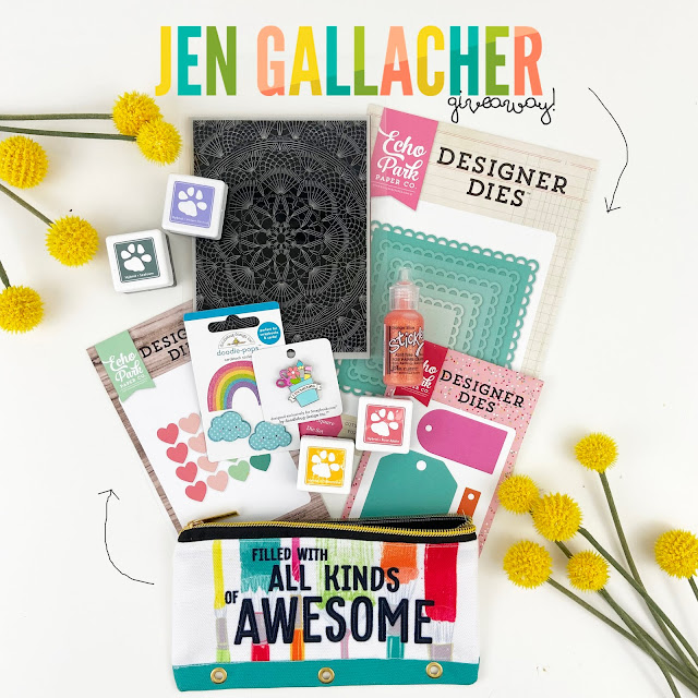 Jen Gallacher Instagram giveaway. #giveaway #scrapbooking #stamping #diecutting #jengallacher