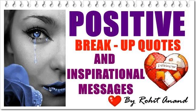 Top Positive Breakup Quotes Best Inspirational Break Up Quote Positive Break Up Sayings and Positive Break Up Quotes 💔