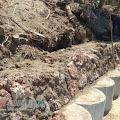 Proyek Tangkis Laut di Desa Jate Pulau Gili Raja Diduga Tidak Sesui RAB
