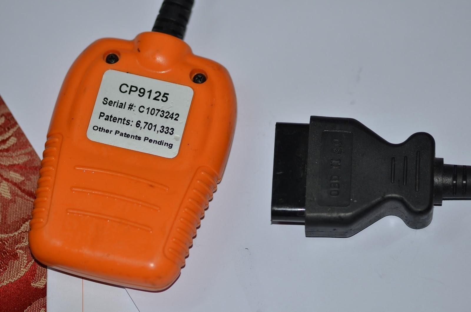 Actron cp9135 manual