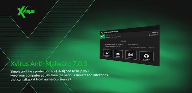 Tặng Xvirus Anti-Malware Pro 2021