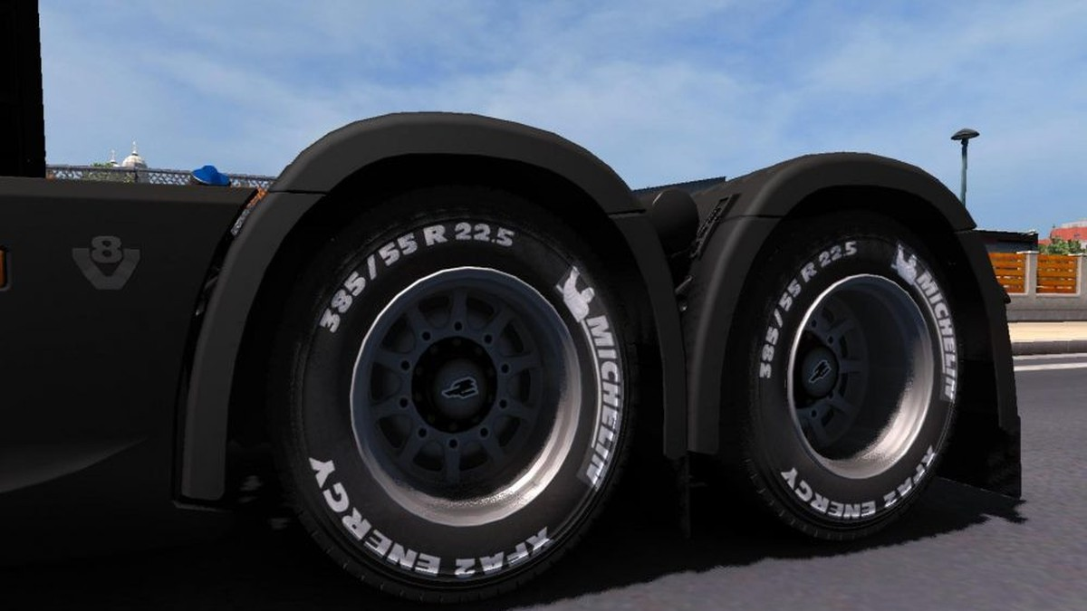 Michelin & Goodyear Tires by VS Mods