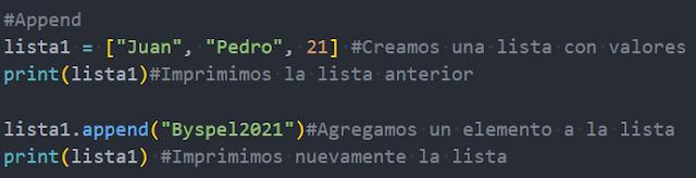 Métodos de agregado en Python