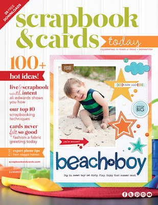 Summer 2016 Scrapbook & Cards Today Magazine Issue #scrapbooking #card