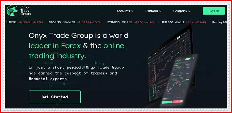 [Мошенники] onyxtradegroup.uk – Отзывы, развод? Компания Onyx Trade Group лохотрон