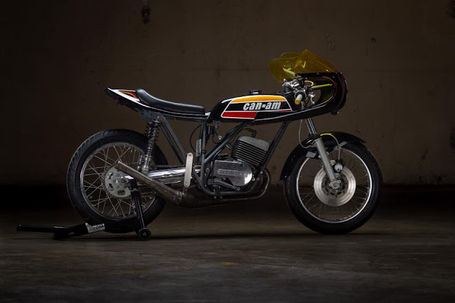 Cafe Racer Can-Am TNT250 By Chi-Jer's Vintage Bike Works