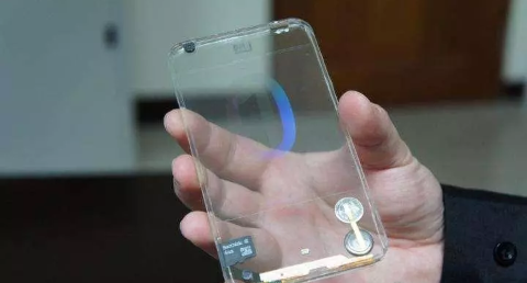 Transparent Phone. The Arrival Of The First Transparent Phone.