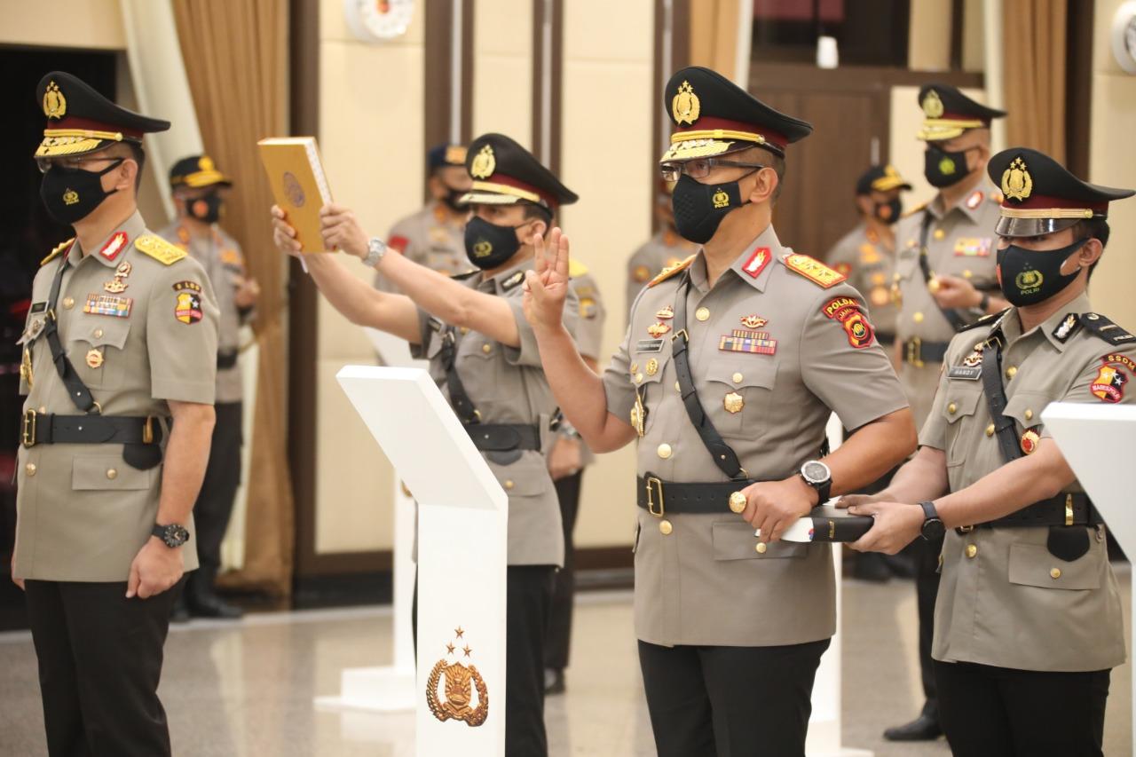 Kapolda Jambi Resmi Dijabat Oleh Irjen Pol. A. Rachmad Wibowo, S.I.K