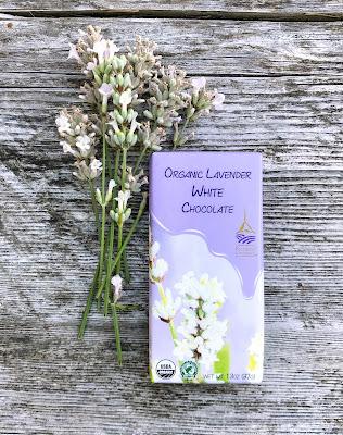 Organic Lavender White Chocolate
