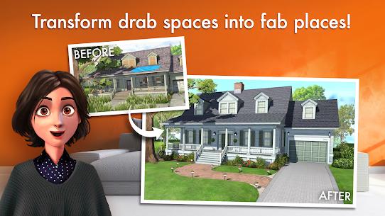 تحميل لعبة Home Design Makeover مهكرة للاندرويد