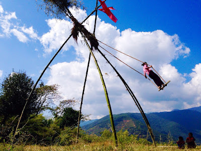 linge-ping-in-dashain-in-nepal