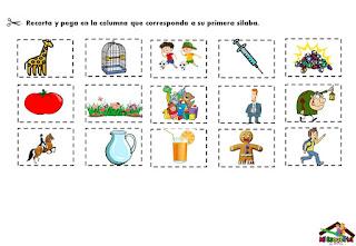 silabas para aprender a leer