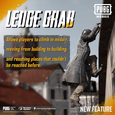 pubg ledge grab
