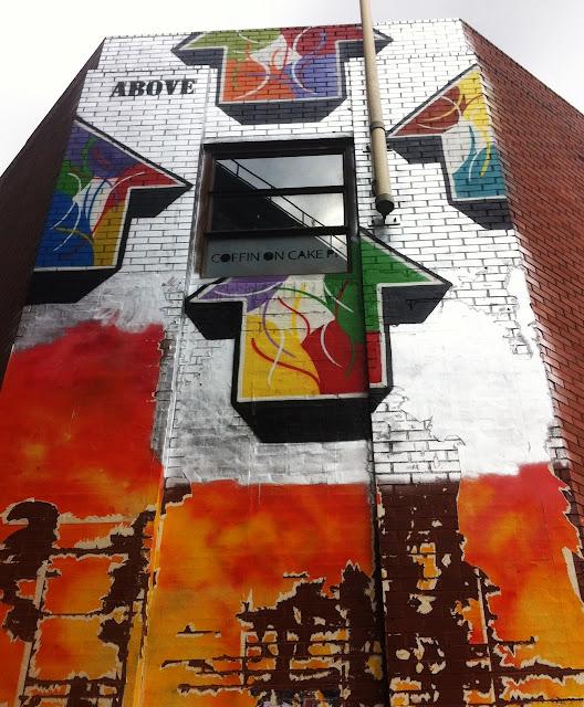 Street Art By Above in London, UK 4