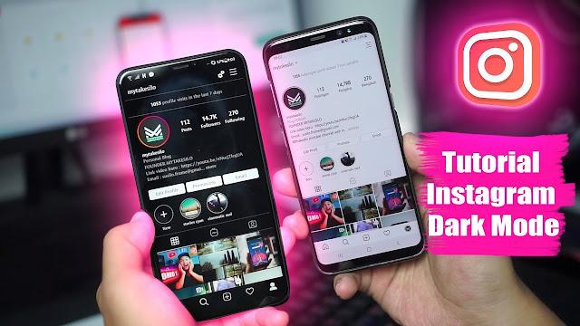 Cara Aktifkan Dark Mode Instagram dari HP ANDROID