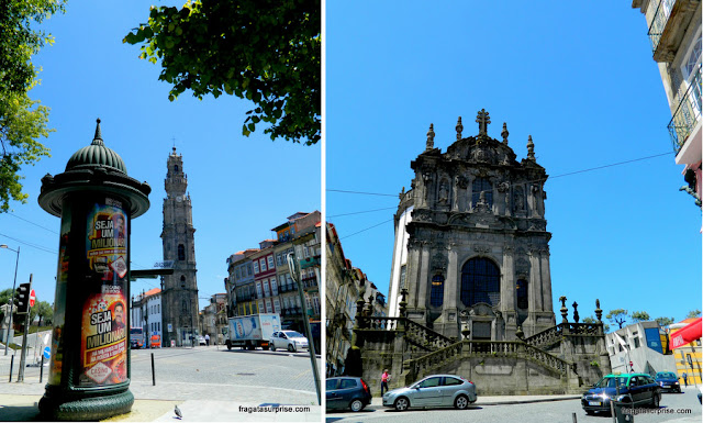 Torre dos Clérigos e Igreja dos Clérigos, Porto, Portugal