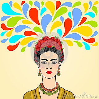 Frida colorida