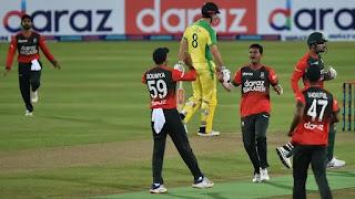 Bangladesh vs Australia 1st T20I 2021 Highlights