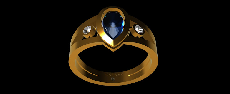 Design of a 3d printable wedding ring