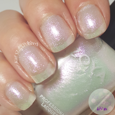 Zoya Reem Acra Trio NYFW 2016 - Leia | Kat Stays Polished