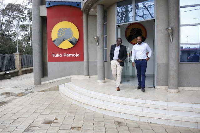 Deputy President William Ruto visit Jubilee headquarters photo