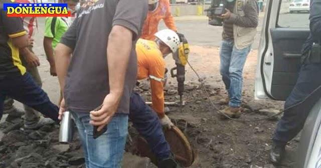 Tras 6 días siguen buscando los restos del menor que cayó en alcantarilla de Puerto Ordaz