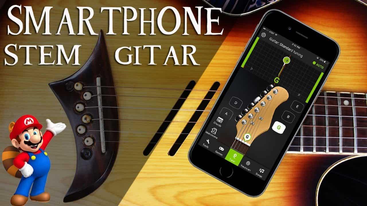 Cara Mudah Menyetel / Menyetem Gitar dengan Aplikasi Android