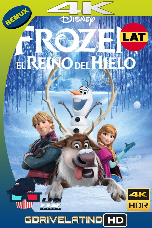 Frozen: El Reino del Hielo (2013) BDREMUX 4K HDR Latino-Ingles MKV