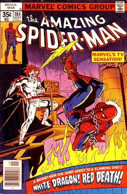 Amazing Spider-Man #184, White Dragon