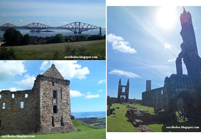 Viaje a Escocia: día 3 Forth Bridge y algunos monumentos de St. Andrews