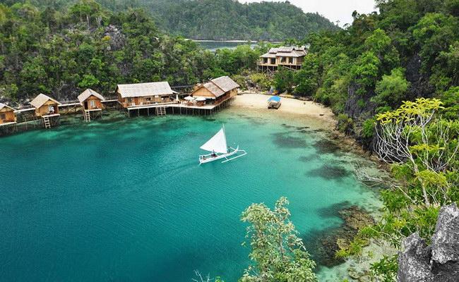 www.xvlor.com Labengki Islands drew Love Bay to follow the fantastic karst cluster