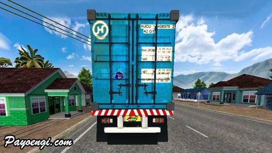 mod truck ud quester trailer kontainer