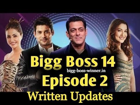 Bigg Boss 14 Episode 2 Written Updates Date 4/10/2020: