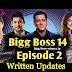 Bigg Boss 14 Episode 2 Written Updates: Sidharth Gauhar and Hina are new Bigg Boss for the next 14 Days