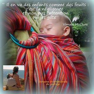 bulline sling néobulle portage naissance bébé pratique rapide écharpe