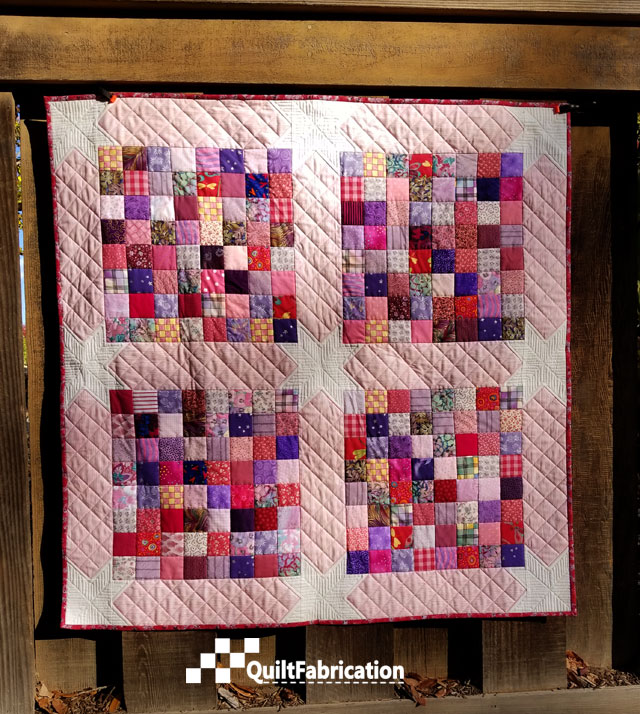 Scrap Happy baby quilt full on view