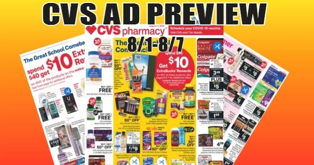 CVS Ad Preview 8-1 to 8-7