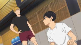 "Hellominju.com : ハイキュー!! アニメ 第4期4話 ""楽""  (全日本ユース強化合宿) | Haikyuu!! Season4 Ep.4 ""Haikyuu!!  ""Taking it Easy""  | Hello Anime !"