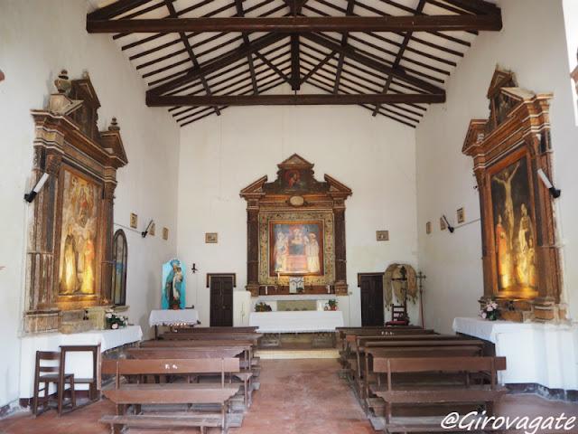 chiesa san Niccolò Val di Rose