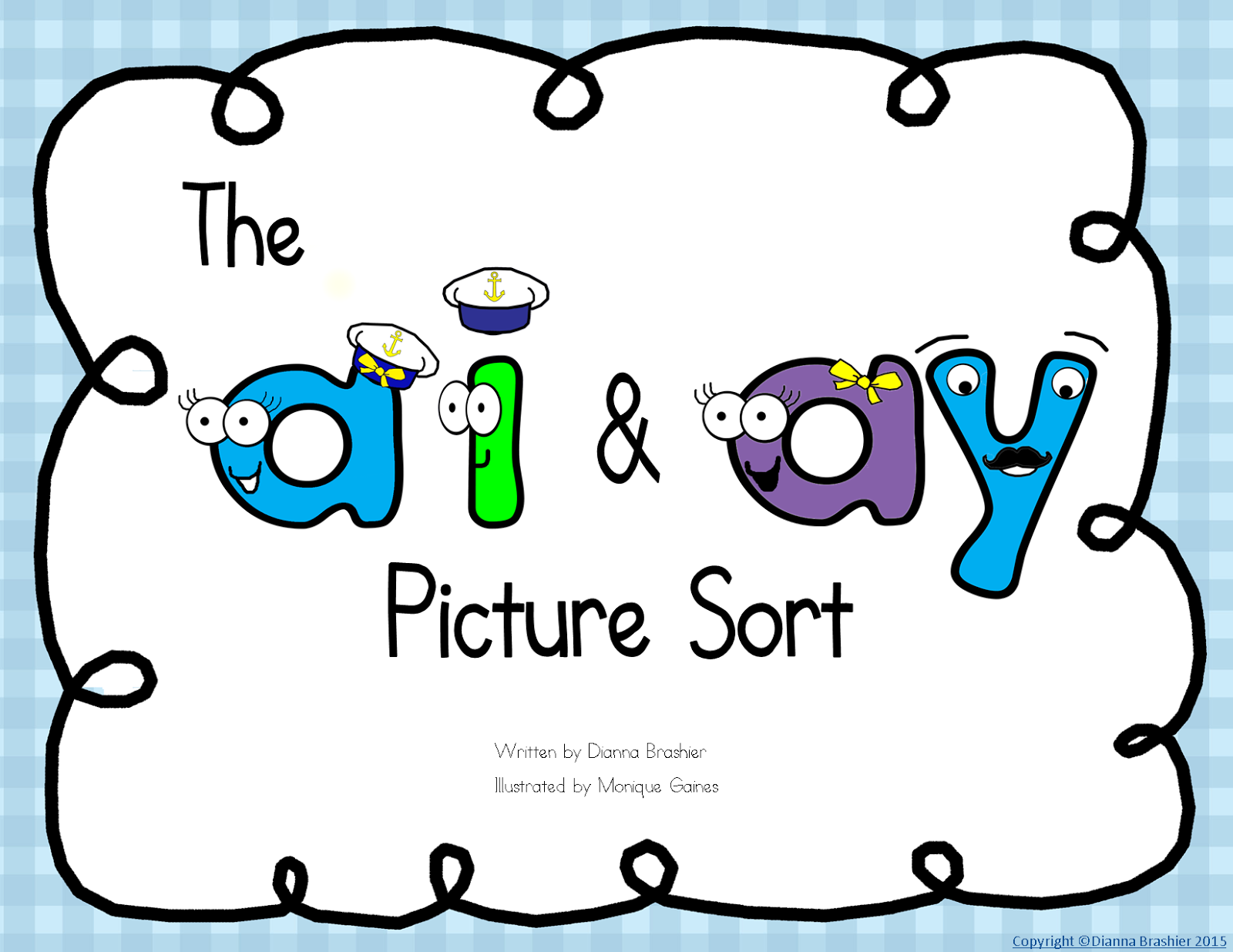 Teachers R Us Ai Ay Story Printable Story Wall Signs