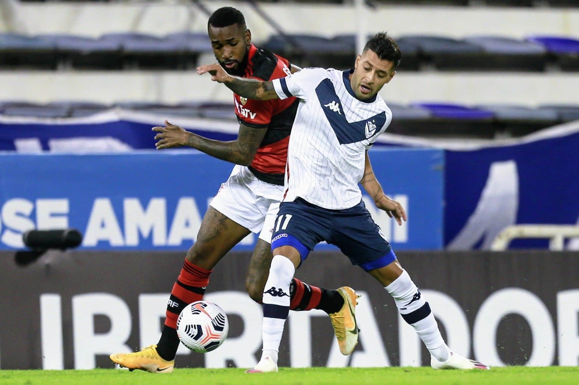 Vélez debutó en la Copa Libertadores con una derrota ante Flamengo