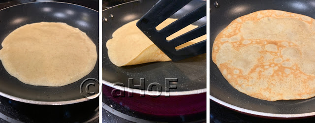 Process of cooking crepes