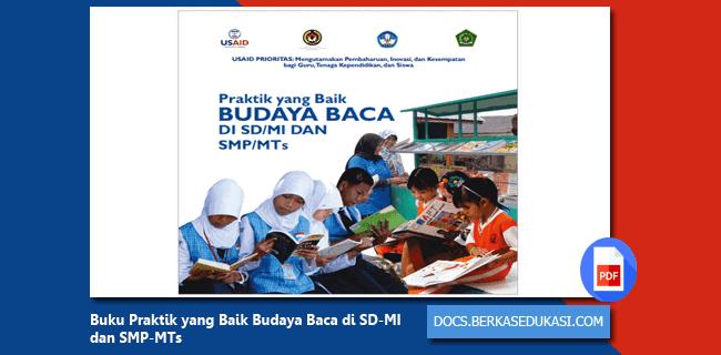 Buku Praktik yang Baik Budaya Baca di SD-MI dan SMP-MTs