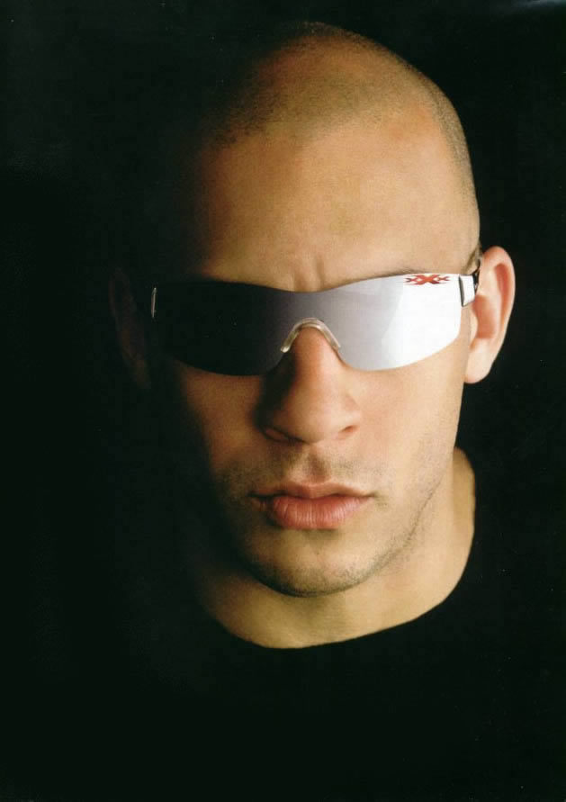 Fashionable with Bald Hairstyles for Men from Vin Diesel
